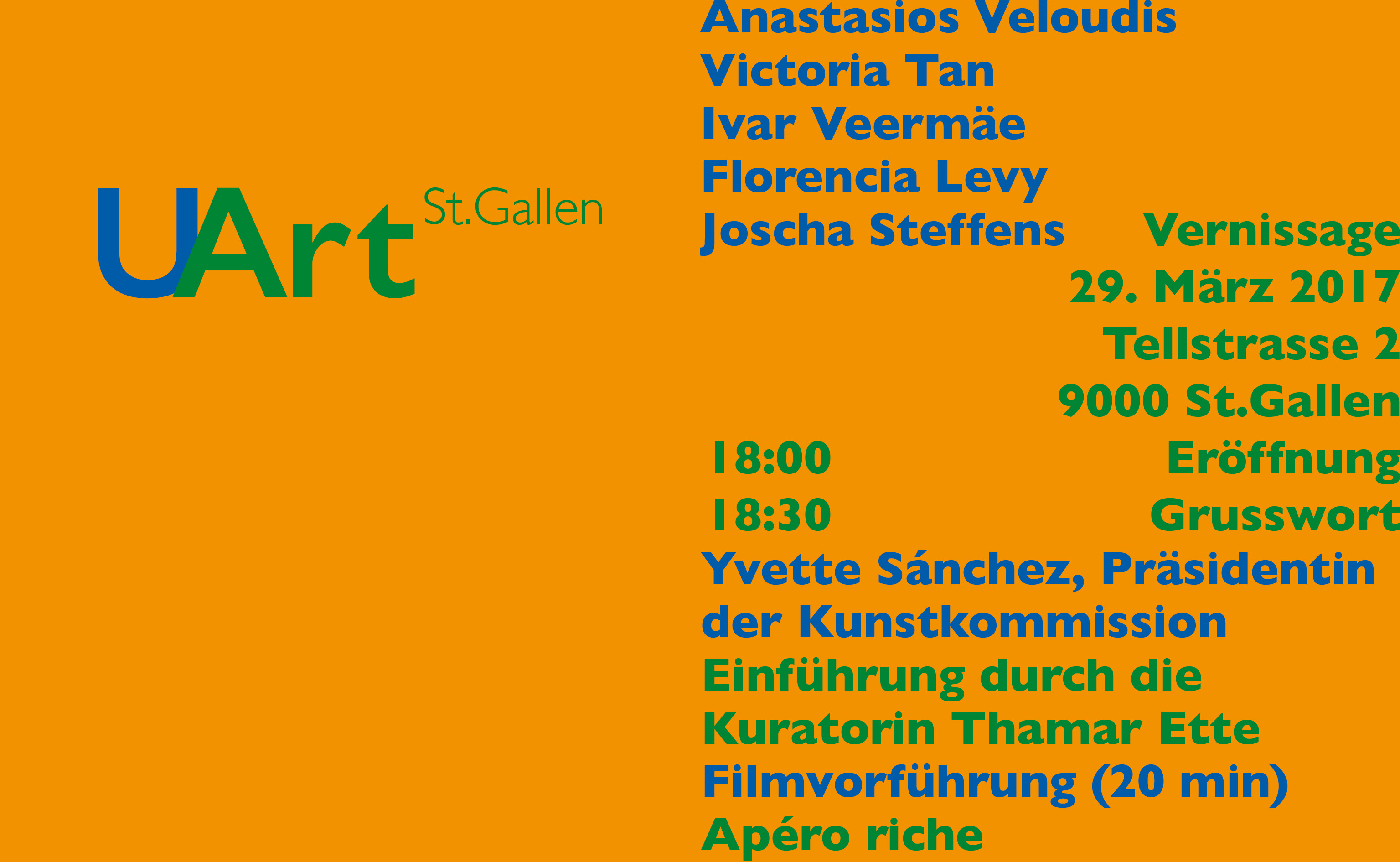 Vernissage 2017 Flyer